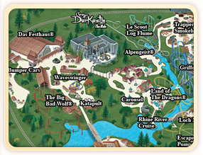 Vacation Packages At Busch Gardens Williamsburg Cmh Travel Busch Gardens Williamsburg Park Info